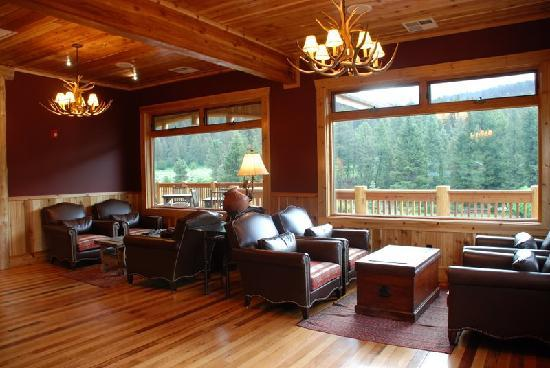 Rainbow Ranch Lodge Restaurant: lounge area