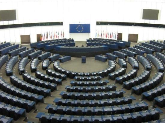 สตราสบูร์ก, ฝรั่งเศส: Parlement européen, hémicycle