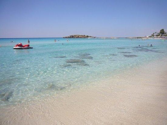 Nissi Beach Resort: La plage