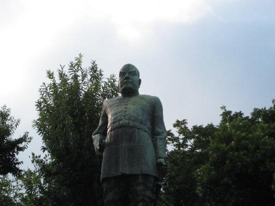 Saigo Takamori Statue: 軍服の西郷隆盛
