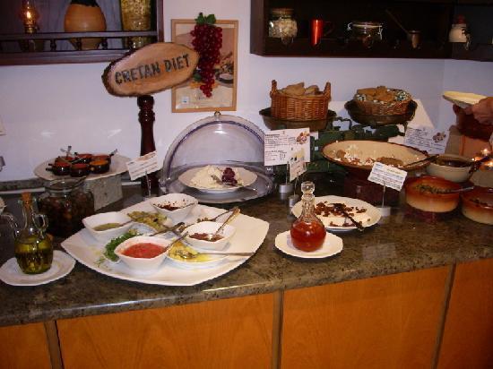 Cretan Malia Park: Gutes, reichliches Essen. Es gibt einheimische wie kontinentale Gerichte.
