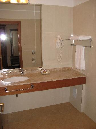 Opera Plaza Hotel: Bathroom