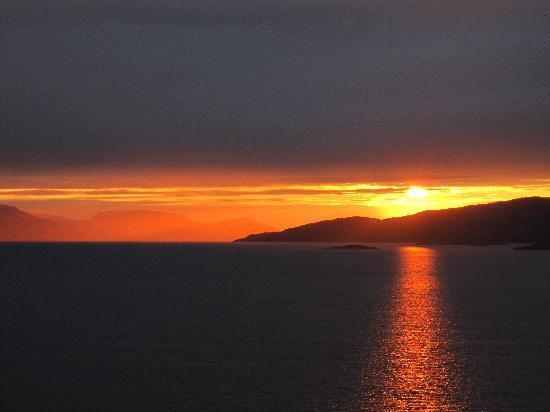 Alta, Norge: Pudimos ver el sol de medianoche