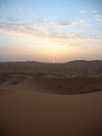 L'Auberge Oasis: couche de soleil