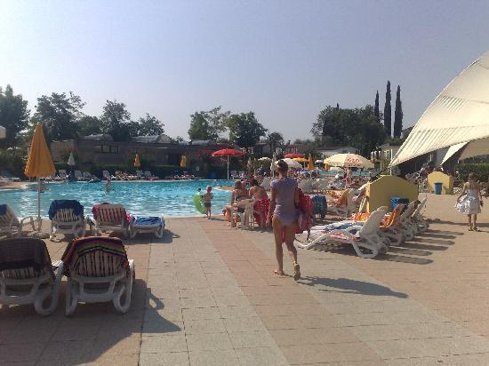 Camping Europa Silvella: Pool area