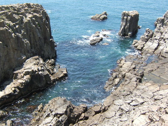 Sakai, Jepang: 海の色がとても綺麗でした♪