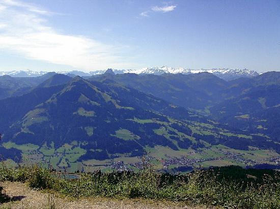 Hotel Pension Unterbrau: Ein wunderschöner Blick auf die höchsten Berge Österreichs