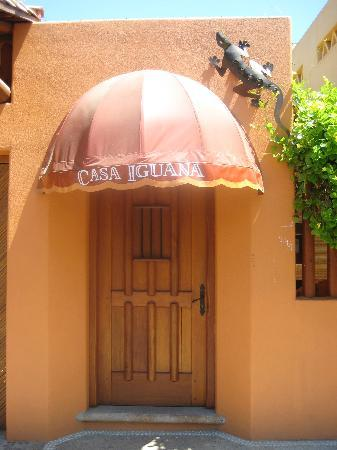 Casa Iguana : Entrance to your own private world in Zihuat