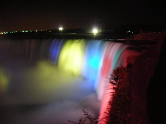 Niagara Falls Ny Night Lights Ny Restaurants