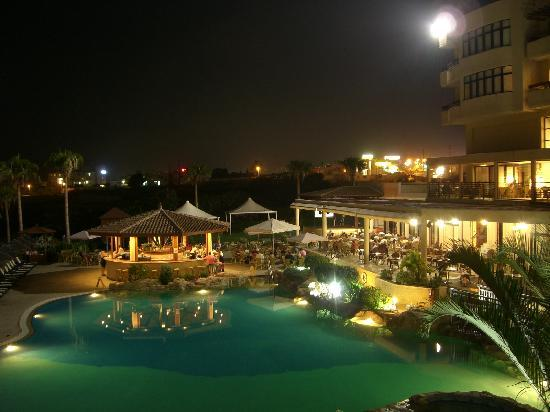 Atlantica Golden Beach Hotel: Evening view from our room