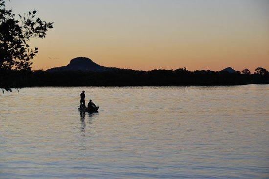 Maroochydore, Austrália: nomal dae fluss, gseht fascht chli us wie im urwald =)