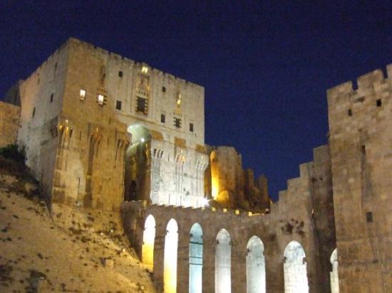 Aleppo Citadel: Alepo. Ciudadela.