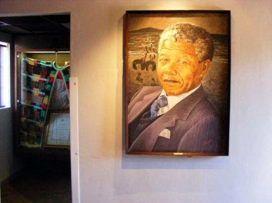 Soweto, South Africa: Nelson Mandela living room