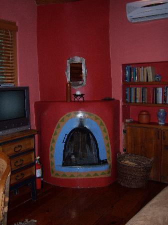 Kiva Fireplace In Puerta Violeta Room Picture Of Adobe