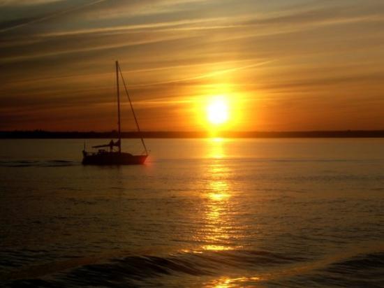 Shediac, แคนาดา: Sunset