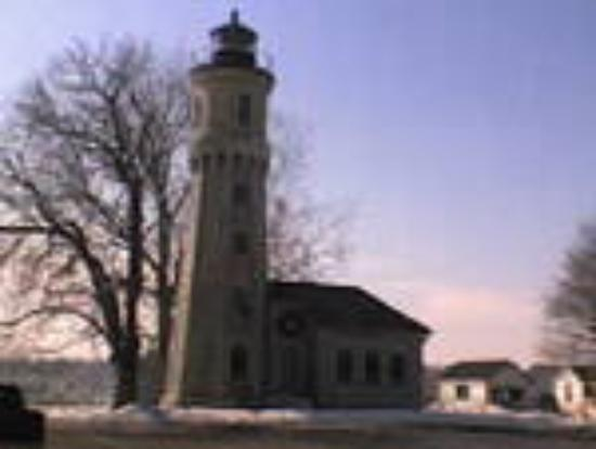 Lighthouse at old Fort Niagara, Youngstown, NY
