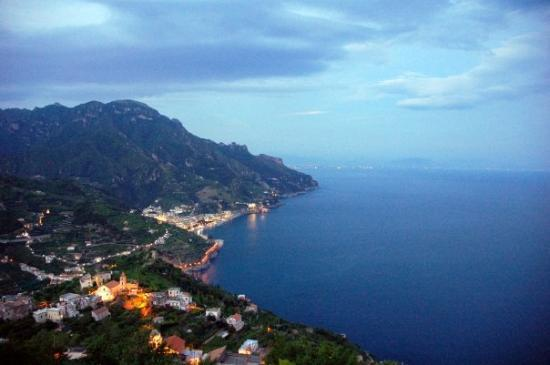 Garden Restaurant : View from Ristorante Garden in Ravello