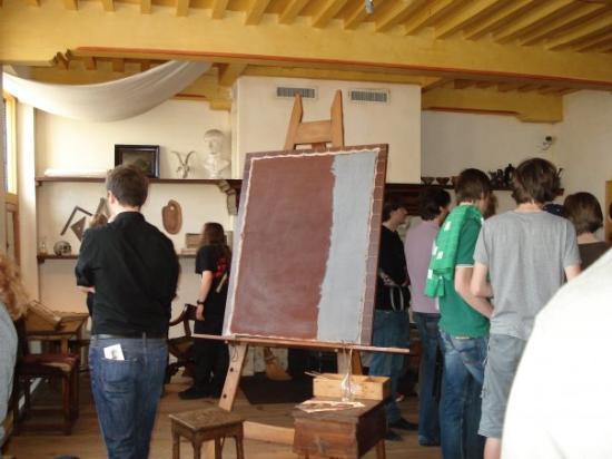 Musée de la maison de Rembrandt : Rembrandts Atelier