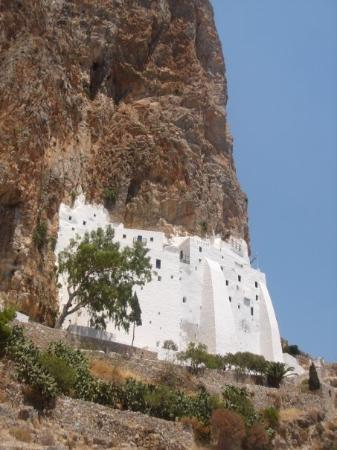 Bells of Amorgos monastery - Picture of Monastery of ...