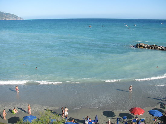 Hotel Baia: View from our balcony