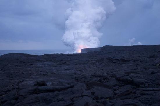 "Pomaika'i ""Lucky"" Farm B&B: Volcanoes NP is an hour away - and a nice drive!"
