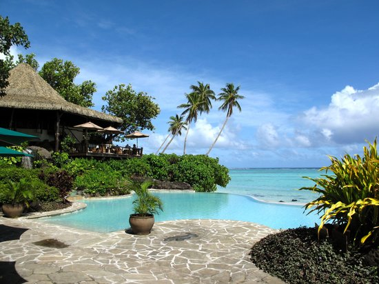 Pacific Resort Aitutaki: Beautiful pool!