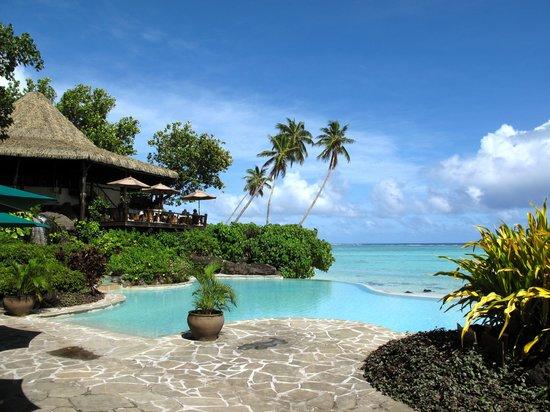 Pacific Resort Aitutaki : Beautiful pool!
