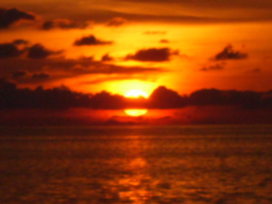 East End, Grand Cayman: sunset