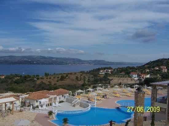 Dionysos Village Resort : View from the snack bar at pool