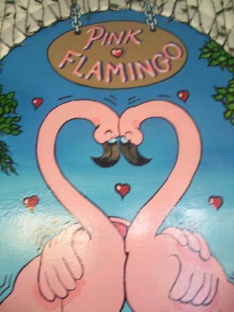 Restaurant Pink Flamingo: pink flamingo