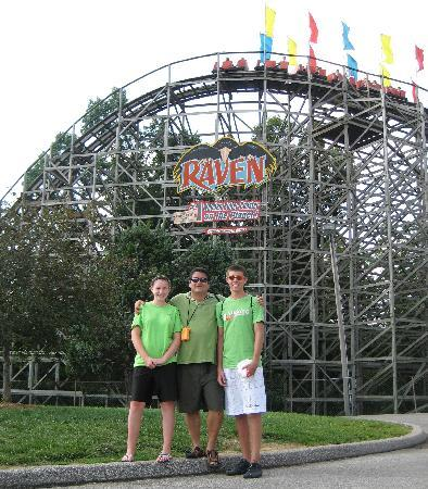 Holiday World % Splashin' Safari: Love those roller coasters