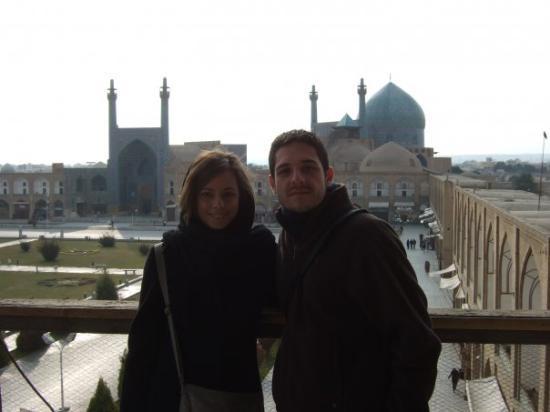 Naqshe Jahan Square(Shah Square): Isfahan. Palaza del Imam.