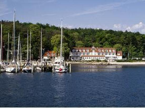 Harrislee, Tyskland: Hotel Restaurant direkt am Meer Nähe Yachthafen