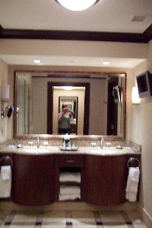 Ameristar Casino Resort Spa St. Charles: bathroom