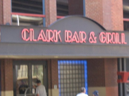 Clark Bar & Grill: The infamous Clark Bar....no shots for me that day!