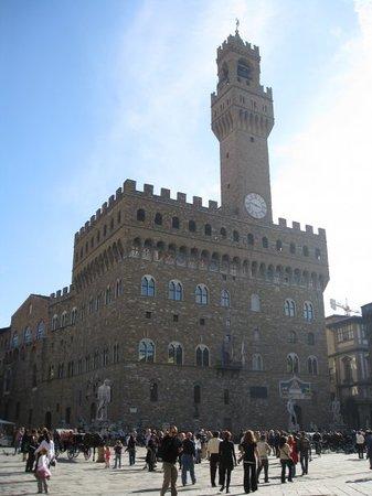 Piazza della Signoria: my face piazza - piazza del signoria