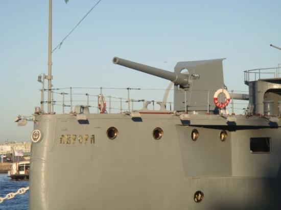 Cruiser Aurora: Аврора - the flagship of Russian revolution