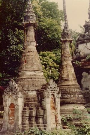 Wat Chom Sawan. Phrae, Thailand