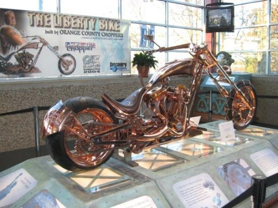 U.S. Space and Rocket Center: Liberty Bike, Space Camp, Huntsville Alabama