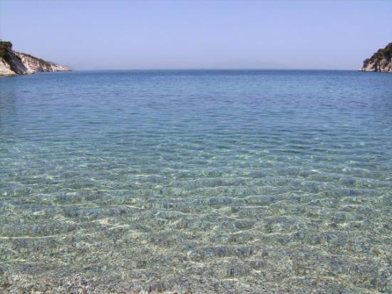 Итака, Греция: Una platja d'Ítaca