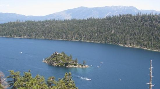 Emerald Bay State Park: Only island on Lake Tahoe