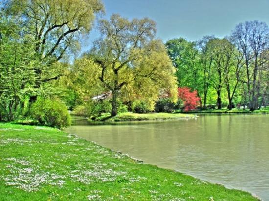 Englischer Garten Or English Garden Picture Of Munich Upper