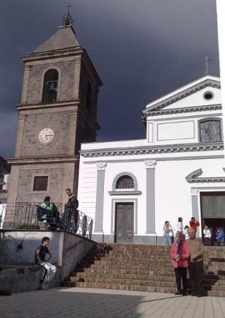 Vico Equense, Italien: Il Campanile. Chiesa di San Renato. Moiano.