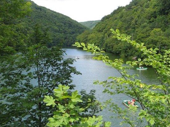 Lillafured : jezioro w Lilafured (k/Miskolca)
