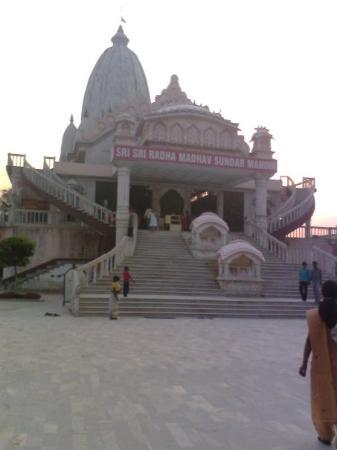 Siliguri, Inde : front of ISKON temple