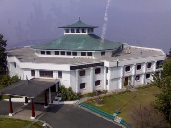 Siliguri, India: govt. building in ganktok,sikim state