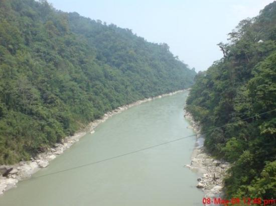 near origin of tista river,siliguri