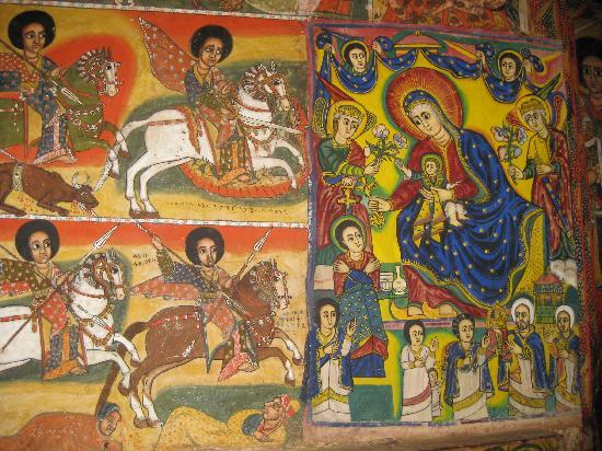 Tana Hotel: Paintings in the Monasteries on Lake Tana