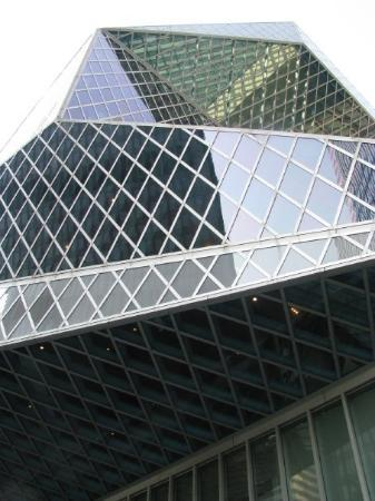 Geometric architecture of seattle public library picture for Architecture geometrique