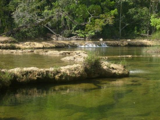Las monjas, Rio Machaquila, Poptun, Peten
